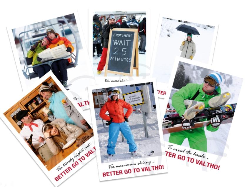 Une galerie de portrait de vacanciers déçus par une autre station de ski que Val Thorens